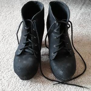 🐖Black soda boots